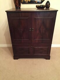 TRADITIONAL DARK WOOD CABINET
