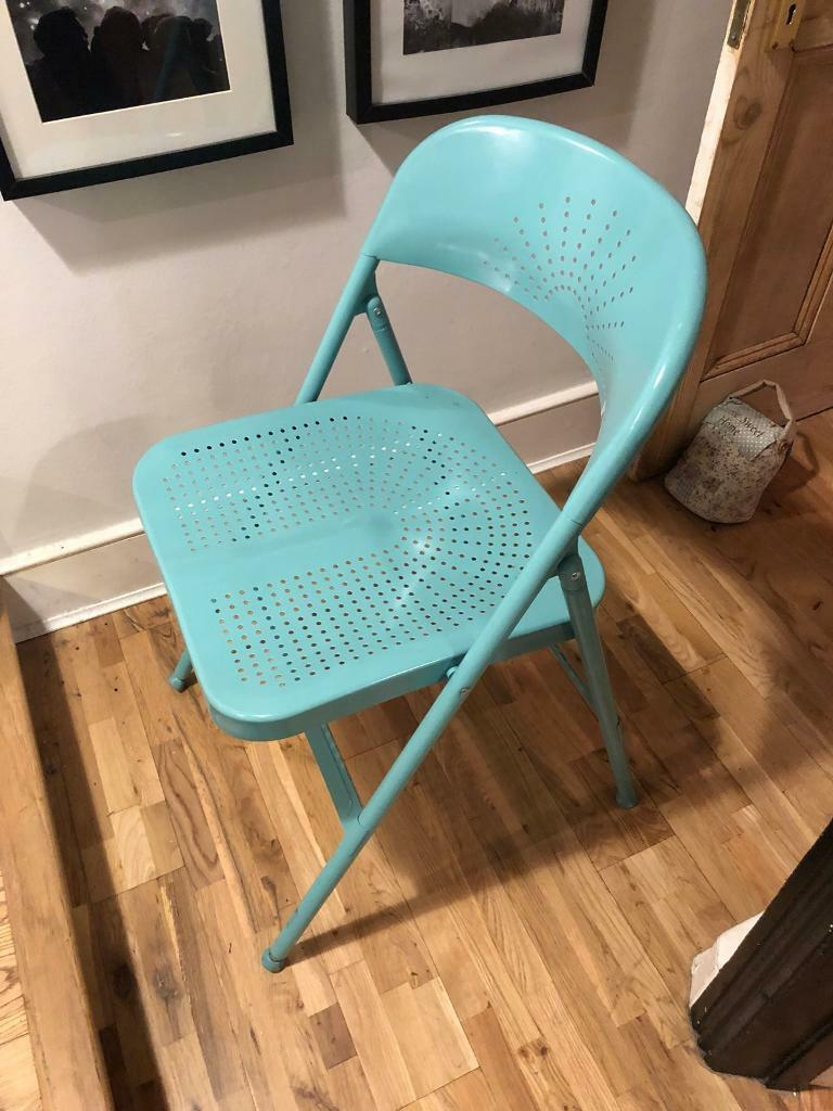 Enjoyable Folding Chair Ikea Frode In Turquoise In Tooting Bec London Gumtree Lamtechconsult Wood Chair Design Ideas Lamtechconsultcom