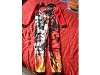Red Black Starwars pyjamas NEW 5/6 years