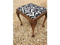 elegant stool or footrest