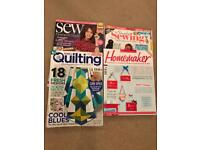 Sewing / Quilting Magazines for FREE
