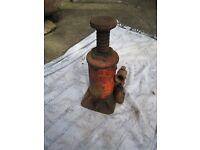 Vintage Hydraulic Bottle Jack