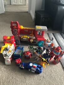 Transformer rescue bots