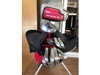 Golf Clubs and Bag plus Travel Bag
