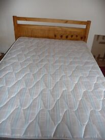 double mattress exc cond