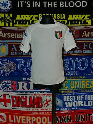 5 5 Italy boys 10 years 140cm kappa football shirt jersey trikot camiseta 056fdfd818bef