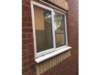 UPVC Double Glazed Internal Window with Blinds