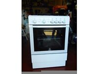 Freestanding Indesit gas cooker 60cm wide