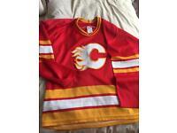 Calgary Flames ice hockey shirt