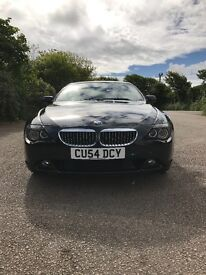 BMW 645i 2004 only 55000 miles good condo on for age nearly every optional extra
