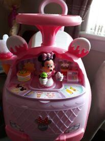 Disney ride in toddlers car