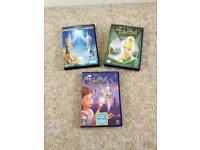 3 kids Walt Disney dvds
