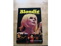 Attention music collectors! Blondie gift book, official fan club edition, £5