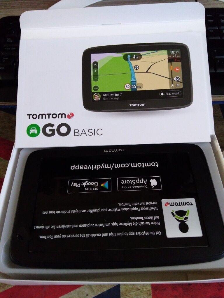 Tomtom Go Basic 6 Sat Nav   in Leeds, West Yorkshire   Gumtree