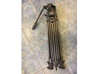 Manfrotto 501 head with 540ART Carbon Fiber Tripod Legs