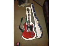 Gibson SG Standard - heritage cherry - and case