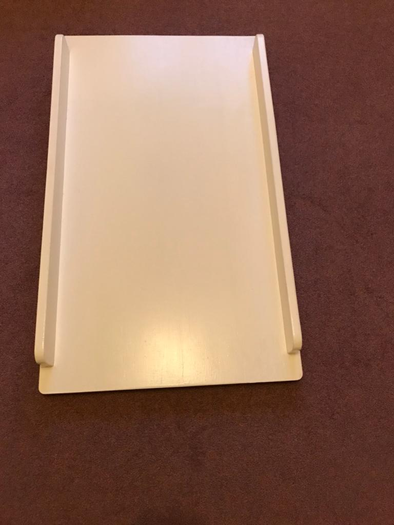 Changing table top to chest of drawers ASPACE
