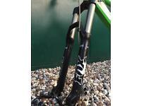 Fox Van 36RC2 160mm coil Mountain Bike Suspension Fork + 20mm bolt through QR Axle