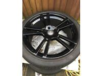 """Audi Q7 22"""" Alloy Wheels With Tyres"""