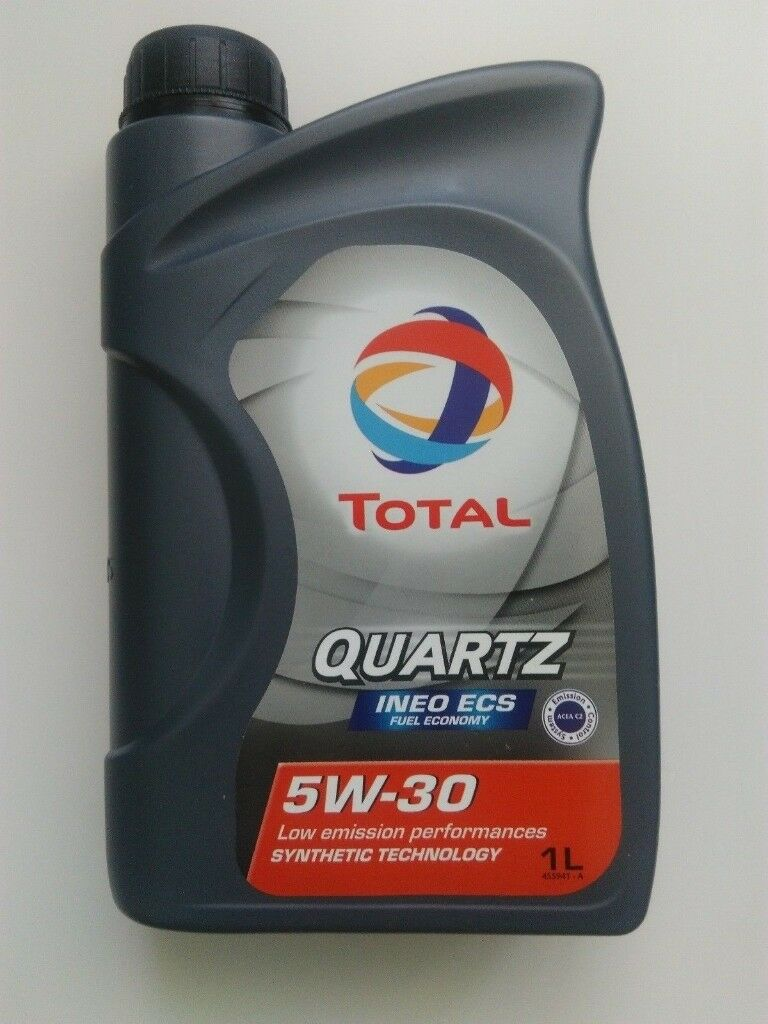 Engine motor oil Total Quartz Ineo ECS 5W30 Synthetic Technology 1L (Litre)  | in Waterlooville, Hampshire | Gumtree