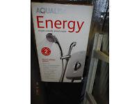 aqulisa electric shower new