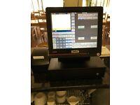 Casio touch screen cash register