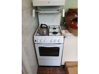 Gas Oven with top grill