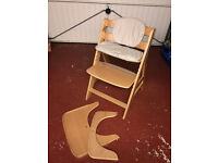 Hauck Beta Plus Childs Chair (Grows with them) - used