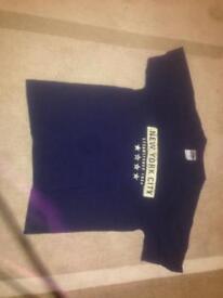 Navy Blue New York City T-Shirt