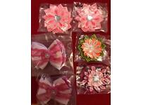 Girls handmade hair bands