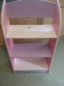 Girls pink and purple unit