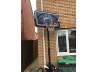 Full size basketball net