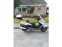 Good all rounder 400cc scooter can do town and motorway rides with ease