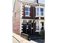 LARGE 2 bed lower end tce flat (private rear area)
