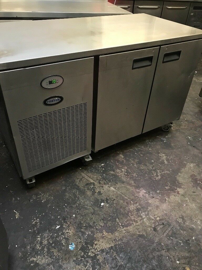 Foster commercial bench fridge, under counter fridge