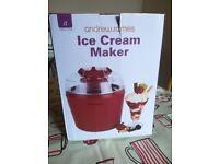 Ice cream maker Andrew James