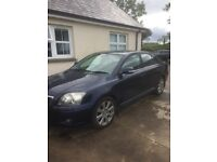 Toyota avensis d4d Car serviced 4 new tyres 11 months mot day nav air con auto wipers auto lights