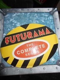 Futurama – the complete series (series 1-4)