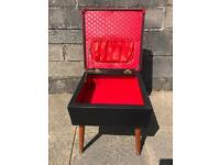 Vintage Sherborne Sewing Box/Stool