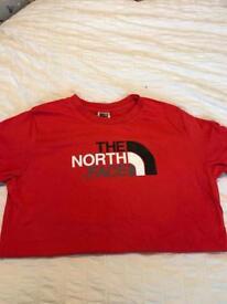 Boys north face t-shirt - xl youth junior -