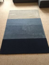 Rug, from Made, Large Blue