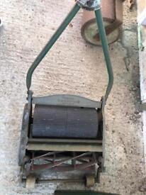 Ransomes Ajax manual lawn mower