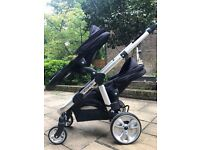iCandy Apple 2 Pear Double Buggy, with Carry Cot