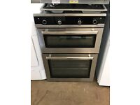 Blomberg Double Oven Stainless Steel/Black