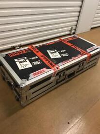 2x Pioneer CDJs 1000 MK2 with Pioneer Flightcase