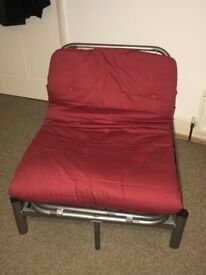 Ikea folding chair (lay flat bed). Great condition