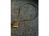 Scart lead for TV/VCR (10 m long )