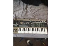 Korg Microkorg and vocoder synth