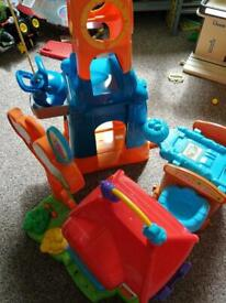 Large lot of Toot Toot drivers toys