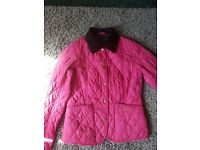 Pink Genuine PInk Barbour Coat